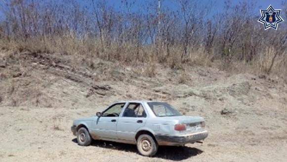 Localiza Policía Estatal en Villa Sola de Vega vehículo con reporte de robo