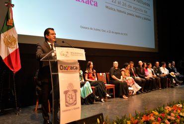 Inauguran el festival ¡Vibra Oaxaca! para  recordar el legado musical de Macedonio Alcalá
