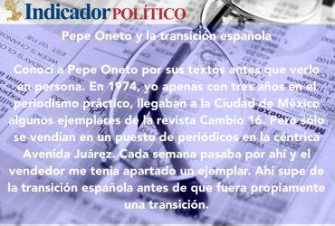 Pepe Oneto y la transición española: Carlos Ramírez