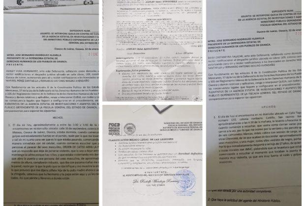 Presentan hija y ex cónyuge de Vera Carrizal quejas ante DDHPO por violación a sus DH por parte de la FGEO