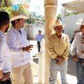 Refrenda Raúl Bolaños compromiso de impulsar crecimiento de comunidades con municipios del Valle Eteco